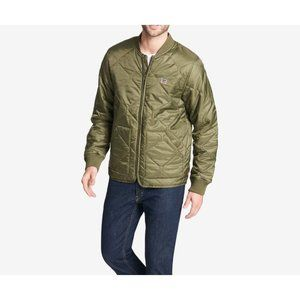 Levi's Green Quilted Diamond Depot Jacket M NWOT